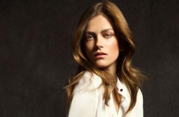 Polska top modelka Marlena Szoka dla Massimo Dutti w kolekcji jesień - zima 2012