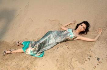 Pustynna sesja kolekcji Resort 2012 Natalii Jaroszewskiej