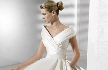 Rozkloszowane suknie ślubne typu księżniczka