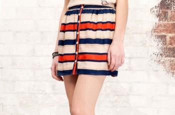 Spódnice w geometryczne wzory - wiosna/lato 2012