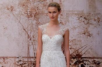Stylowe długie suknie ślubne - 58 zdjęć!