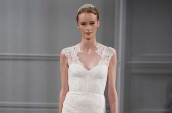 Suknie ślubne Monique Lhuillier - trendy 2014