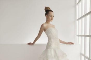 Suknie ślubne z falbanami