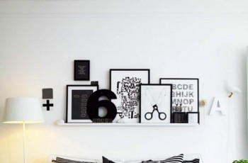 Trendy do wnętrz w stylu Black&White od Homebook