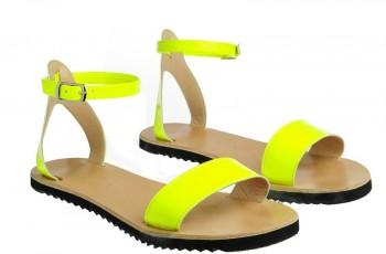 Wygodne płaskie sandałki