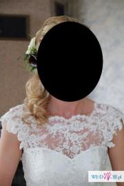 Suknia ślubna Antra-Angela ecru, rozm.38-40