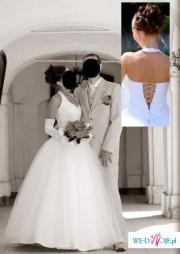 Suknia ślubna dla kopciuszka