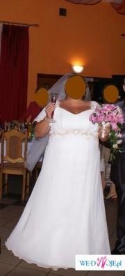 Suknia ślubna dla puszystej :)