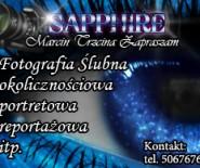 ツ Sapphire - Fotografia Ślubna i Okolicznościowa