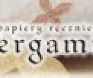 """""""PERGAMINUS"""" PAPIERY RĘCZNIE CZERPANE"""