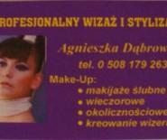 Agnieszka Dąbrowska wizażysta/stylista