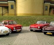 Auta zabytkowe, sportowe kabriolety, Fiat 500 124 Spider tp