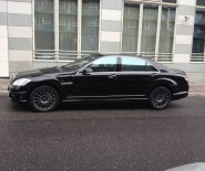 Auto do ślubu - czarny Mercedes S63 AMG Black Bison - 575 KM