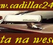 Auto do ślubu - luksusowy Cadillac.