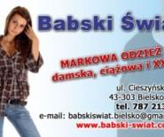 Babski Świat - Odziez Ciązowa , Odziez Damska, XXL, Outlet