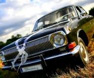 Bajeczny Ślub Czarna Wołga  auto do ślubu samochód na wesele