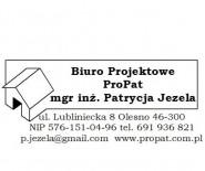 Biuro Projektowe ProPat mgr inż. Patrycja Jezela