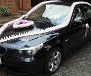 BMW E60 DO ŚLUBU KREMOWE SKÓRY DEKORACJA GRATIS