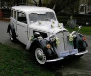 DKW z 1937r- Limuzyna retro do ślubu i nie tylko
