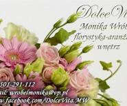Dolcevita - kwiaty na ślub oraz aranżacja wnętrz i obiektów