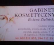 Gabinet Kosmetyczny Bożena Zielińska