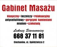 Gabinet Masażu Łukasz Siwanowicz