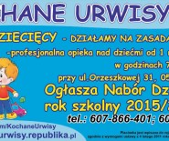 KOCHANE URWISY Klub Dziecięcy - opieka nad dziećmi