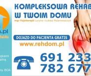Kompleksowa rehabilitacja domowa - Lucyna Pożarowszczyk