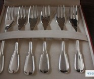 Luksusowe widelczyki deserowe ze srebra - idealny prezent ślubny