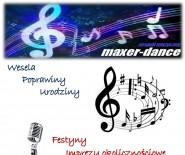 MAXER-DANCE zepół muzyczny na każdą imprezę wesele poprawiny