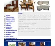 Meble tapicerowane, krzesła i stoły, meble stylizowane