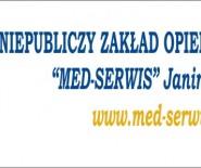 """Niepubliczny Zakład Opieki Zdrowotnej """"Med-Serwis """" Janina Hrynek"""