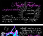 Night Fashion-Zmysłowa Bielizna