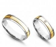 Obrączki, Pierścionki Zaręczynowe, Diamenty Crisscut