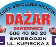 Ośrodek Szkolenia Kierowców DAŻAR Dawidowicz Wojciech