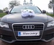 Piękne nowe Audi A4 na ślub lub inną okazje okolicznościową