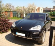 PORSCHE CAYENNE TURBO do ślubu