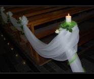Pracownia Sukien Ślubnych MEGI Dekoracje sal i Kościołów