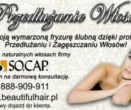 Profesjonalne Przedłużanie i Zagęszczanie Włosów - SO.CAP