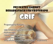 """Prywatny Gabinet Rehabilitacji i Fizykoterapii """"GRIF"""""""
