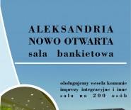 sala bankietowa Aleksandria