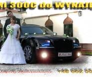 Samochód do ślubu Chrysler 300C HEMI Ltd. 380KM