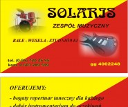 """""""Solaris"""" Zespół Muzyczny"""
