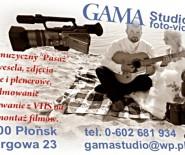 """Studio """"GAMA""""/ fotografia, videofilmowanie, zespół muzyczny."""