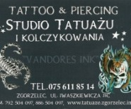 "Studio tatuażu i kolczykowania ""VANDORES INK"""