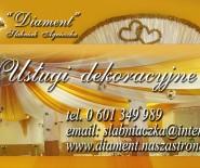 """Usługi dekoracyjne """"Diament"""""""