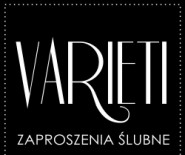 Varieti - zaproszenia ślubne Agnieszka Hennig