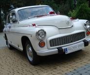 Warszawa do Ślubu, zabytkowe auto retro, Tarnów