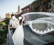 Welon ślubny z koronką