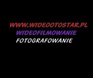 WIDEOFOTOSTAR wideofilmowanie fotografowanie